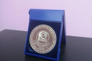 Медаль в номинации «Лучший продукт-2020»